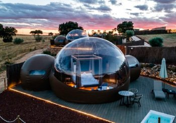 «Hotel Burbuja»: parece de película pero es real