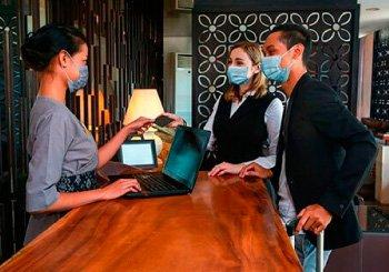 Recomendaciones para el alojamiento en hoteles para evitar riesgos de contagio